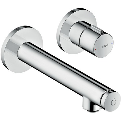 Hansgrohe AXOR Uno Select Vanity top mixer flush-mounted, wall mounting, projection 158mm