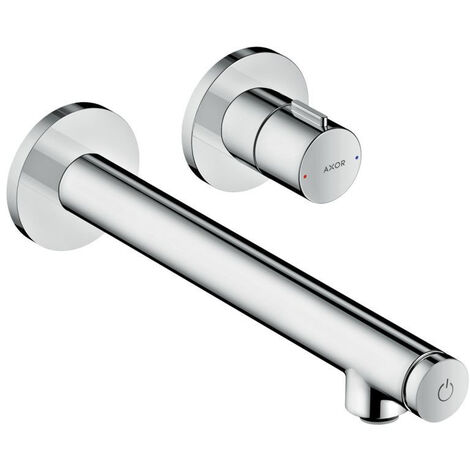 Hansgrohe AXOR Uno Select Vanity top mixer flush-mounted, wall mounting, projection 220mm