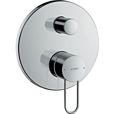 Hansgrohe AXOR Uno Single lever bath mixer flush-mounted, bow handle, fuse combination