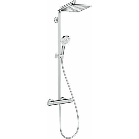 Hansgrohe Colonne de Douche Showerpipe Crometta E 240 Mitigeur Thermostatique # 27271000