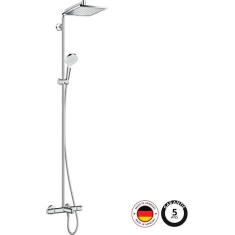 HANSGROHE - Colonne thermostatique bain/douche Crometta E 240