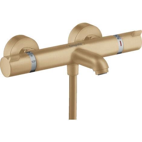 Hansgrohe Comfort Mitigeur Thermostatique bain/douche, Bronze brossé (13114140)
