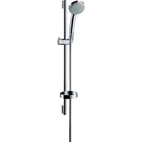 Hansgrohe Croma 100 1Jet Unica Shower Set 65cm Rail - Chrome