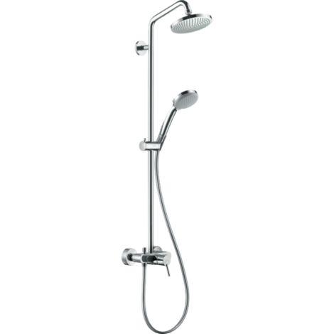 Hansgrohe Croma 100 Showerpipe Single Lever Shower Mixer