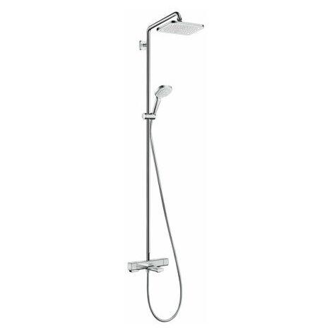 hansgrohe Croma E Showerpipe 280 1jet avec thermostat de bain - 27687000