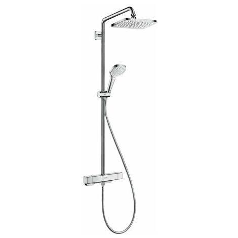 hansgrohe Croma E Showerpipe 280 1jet EcoSmart 9 l/min avec thermostat - 27660000
