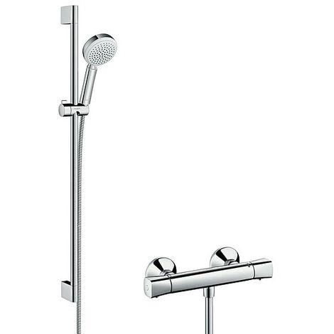 HANSGROHE Crometta 100 Vario Combi Set 900 mm - weiß/chrom - 27031400