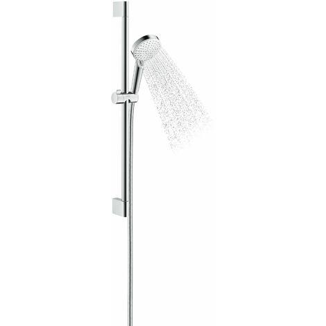 Hansgrohe Crometta shower set Vario Green 6 l/min with shower bar 65 cm, 26555400, white/chrome - 26555400