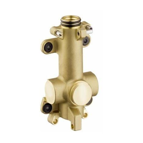 Hansgrohe cuerpo básico/ducto de agua para estantería empotrada 12 x 12 - 40877180
