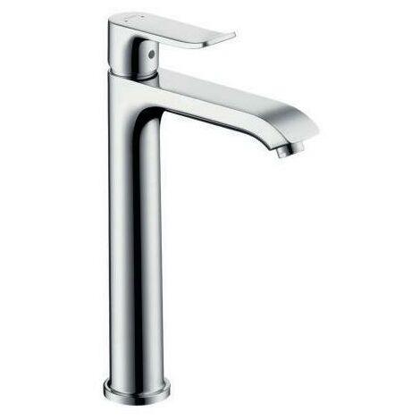 hansgrohe Einhebel-Waschtischmischer 200 Einhebel-Waschtischmischer 200 METRIS DN 15, für flache Waschschüsseln ohne Ablaufgarnitur chrom