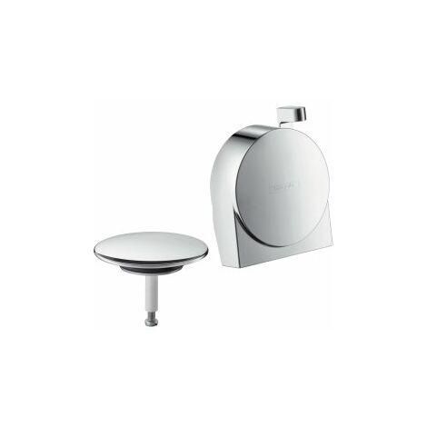hansgrohe Exafill S set complet bec de baignoire, drain et trop-plein, Coloris: chrome - 58117000