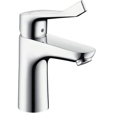 Hansgrohe FFocus Single lever basin mixer 100 with extra long handle without waste set (31915000)