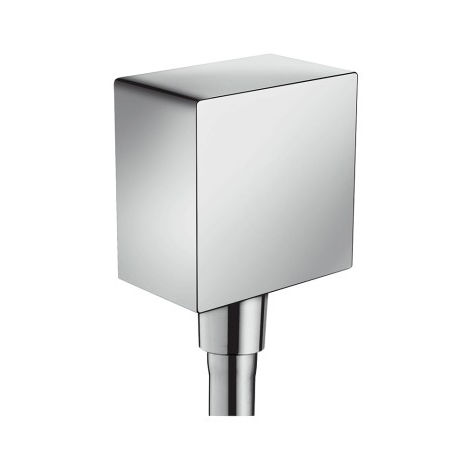 Hansgrohe FixFit Wall outlet Square with non-return valve (26455000)