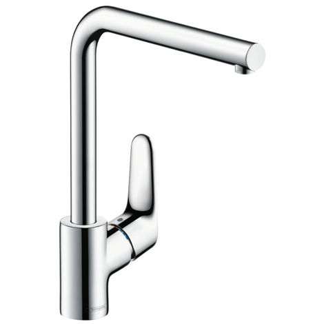 Hansgrohe Focus M41 deck mounted kitchen mixer tap 280 1jet chrome