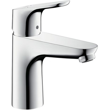 Hansgrohe Focus Single lever basin mixer 100 LowFlow without waste set, Chrome (31513000)