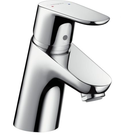 Hansgrohe Focus Single lever basin mixer 70 LowFlow with pop-up waste set, Chrome (31951000)
