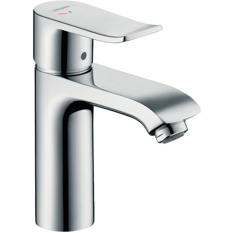 HANSGROHE Hansgrohe Mitigeur lavabo avec garniture de vidage, Metris 110 CoolStart chrome