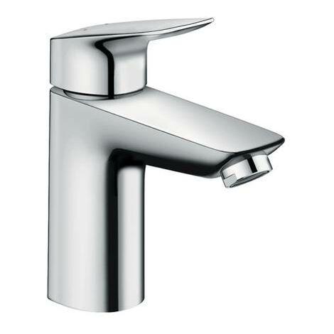 Hansgrohe Logis 100 Mitigeur lavabo avec Push Open