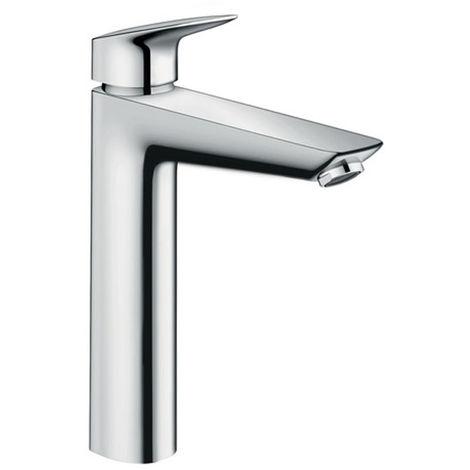 Hansgrohe Logis 190 Mitigeur lavabo, avec tirette et vidage synthétique, chromé (71090000)
