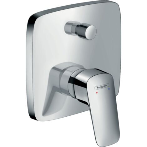 Hansgrohe - Logis Bath Mixer Concealed with Security Combination - Chrome