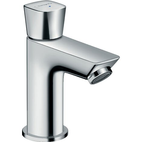 Hansgrohe Logis Pillar tap 70 for cold water without waste set, Chrome (71120000)