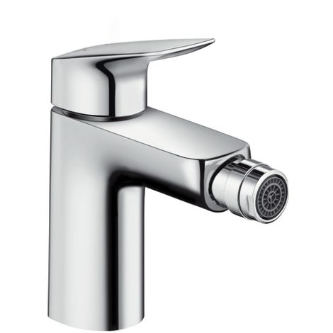 Hansgrohe Logis Single lever bidet mixer 100 with pop-up waste set, Chrome (71200000)