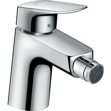 Hansgrohe Logis Single Lever Bidet Mixer 70 with Metal Pop Up Waste