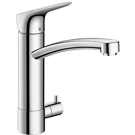 Hansgrohe Logis Single lever kitchen mixer 160 with device shut-off valve (71834000)