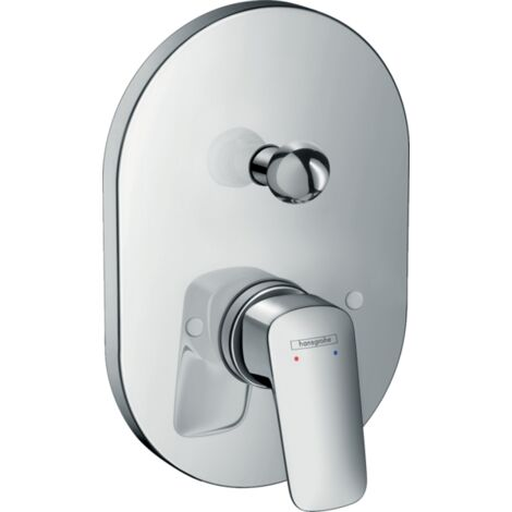 Hansgrohe Logis Single Lever Manual Bath Mixer Tap for Concealed Installation