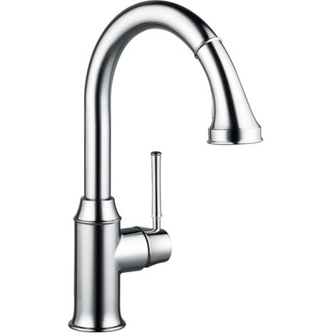 Hansgrohe M53 Deck Mounted Kitchen Mixer with Pull Out Spray Chrome