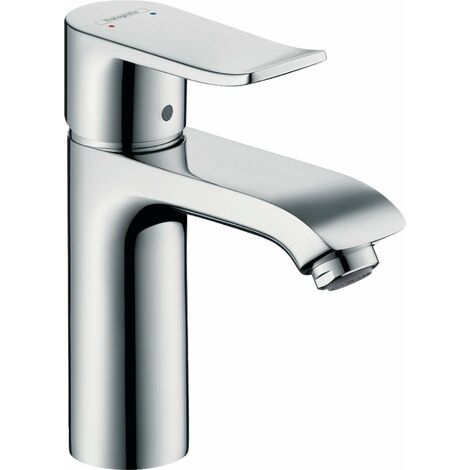 Hansgrohe Metris Mezclador monomando de lavabo 110 con desagüe automático 3108000000 - 31080000
