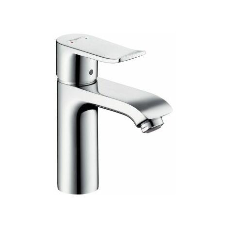 Hansgrohe Metris Mitigeur monocommande de lavabo 110, LowFlow, sans vidage automatique 3108000000 - 31204000