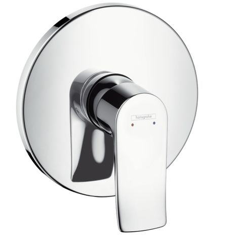 Hansgrohe Metris Single lever shower mixer highflow for concealed installation, Chrome (31652000)