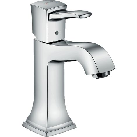 Hansgrohe Metropol Classic single-lever basin mixer 110, lever handle, without pop-up waste, projection 113mm - 31301000