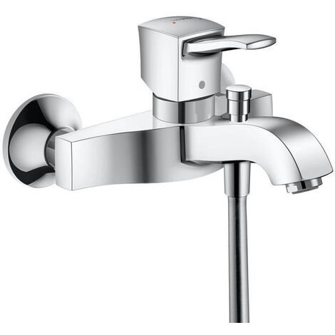 Hansgrohe Metropol Classic Single lever bath mixer for exposed installation with lever handle, Chrome (31340000)