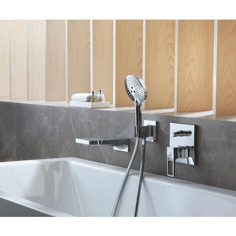 Hansgrohe Metropol single-lever bath mixer flush-mounted, bow handle, fuse combination - 74546000