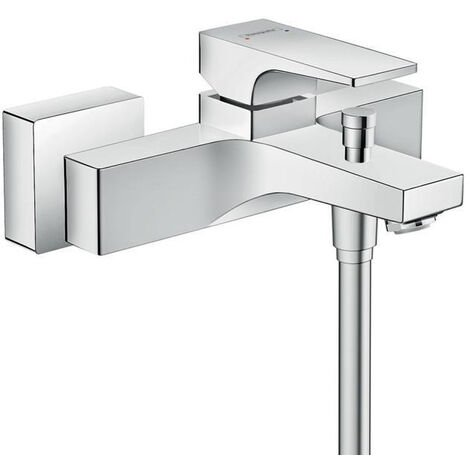 Hansgrohe Metropol Single lever bath mixer for exposed installation with lever handle, chrome (32540000)
