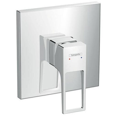 Hansgrohe Metropol Single lever shower mixer for concealed installation with loop handle, chrome (74565000)