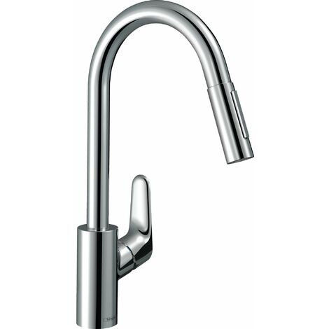 HANSGROHE Mitigeur cuisine Focus douchette extractible chrome