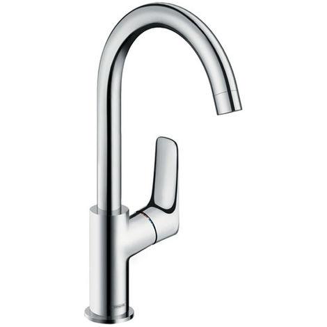 HANSGROHE Mitigeur lavabo Logis 210 bec haut orientable 120° chromé