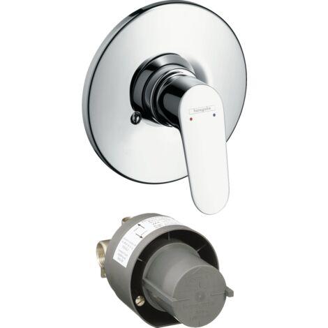 Hansgrohe Mitigeur monocommande de douche encastré Focus 31966000 | Chromè