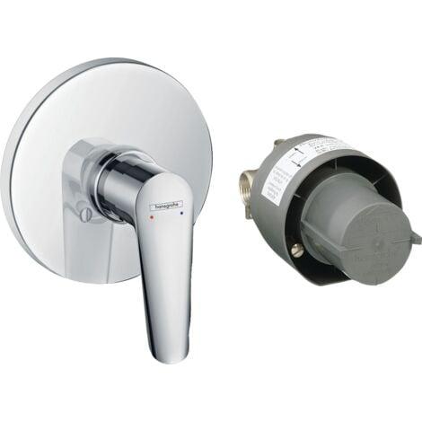 Hansgrohe Mitigeur monocommande de douche encastré Logis E 71608000 | Chromè