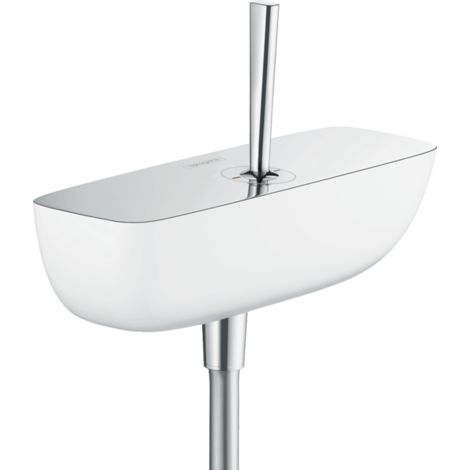 Hansgrohe PuraVida Single Lever Shower Mixer for Exposed Installation White Chrome