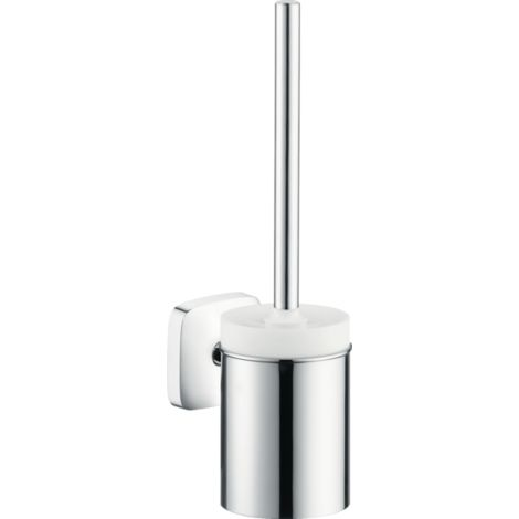 Hansgrohe PuraVida toilet brush w.holder chrome