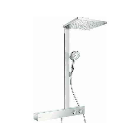 Hansgrohe Raindance E Showerpipe 300 1jet, avec ShowerTablet 600, 1 consommateur, 27363000, chromé - 27363000