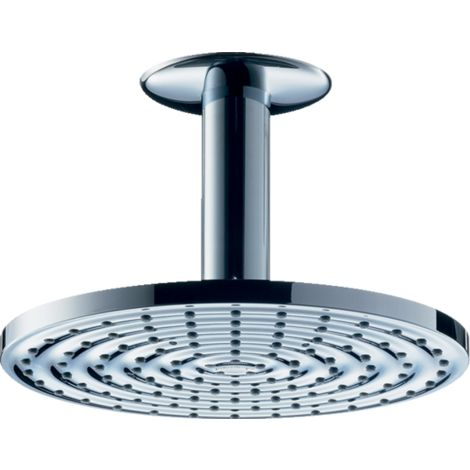 hansgrohe 27472000 Raindance S 180 Overhead Shower with Ceiling Connector 1 ...