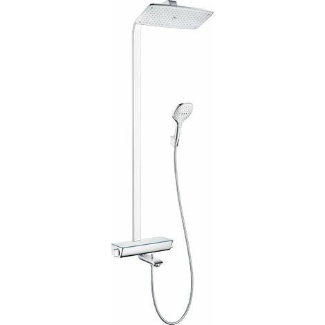 Hansgrohe Raindance Select E360 Tubo de ducha de 1 función, con termostato de baño, 27113, color: cromado - 27113000