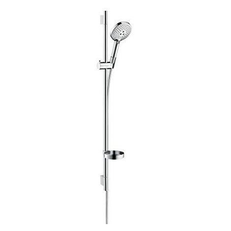 Hansgrohe Raindance Select Set Raindance Select S 120 3jet douche à main/Unica'S Puro barre de douche 0,90 cm chromé (26631000)