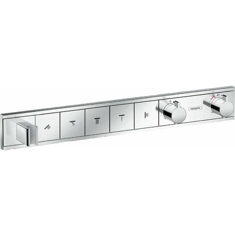 Hansgrohe RainSelect set encastré pour 5 consommateurs, Coloris: chrome - 15358000