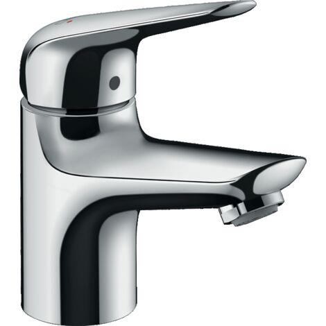 Hansgrohe - Robinet de lave-mains Novus 70 eau froide sans tirette ni vidage finition chromé - TNT
